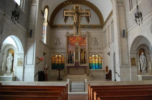 Carmelite Monastery front altar