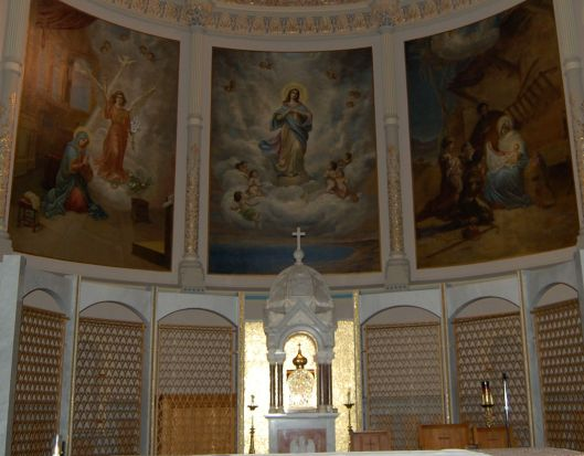 main altar miraculous medal shrine