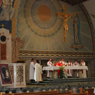 2012 altar cannonization celebration