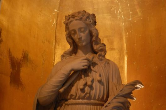 philomena church statue