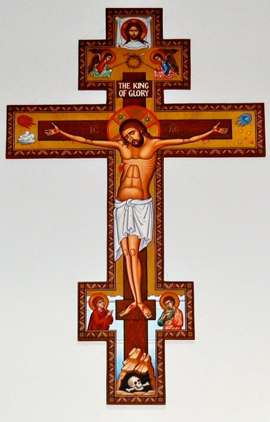 st. francis cross at st basil