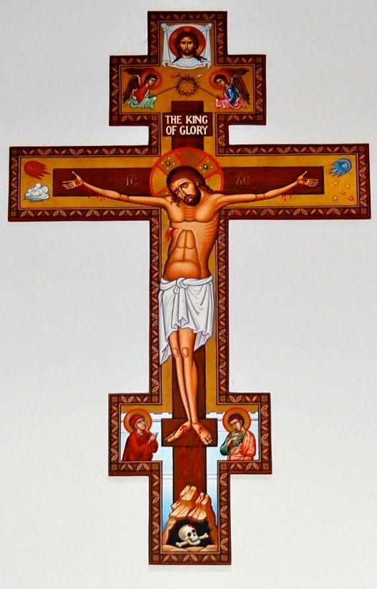 st. francis cross at st basil