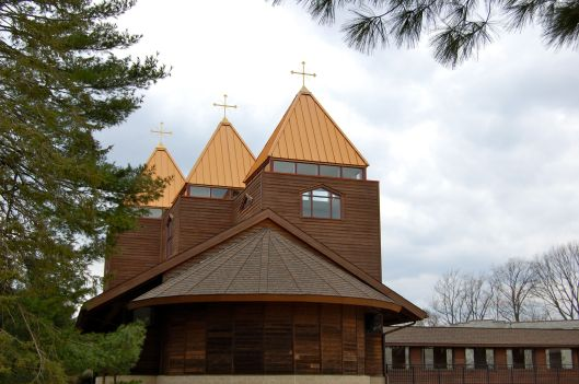 outside view of chapel