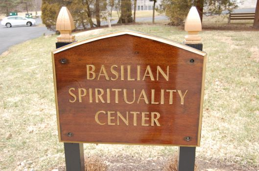 sign Basilian Spirituality Center
