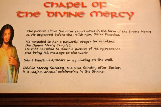 chapel of divine mercy
