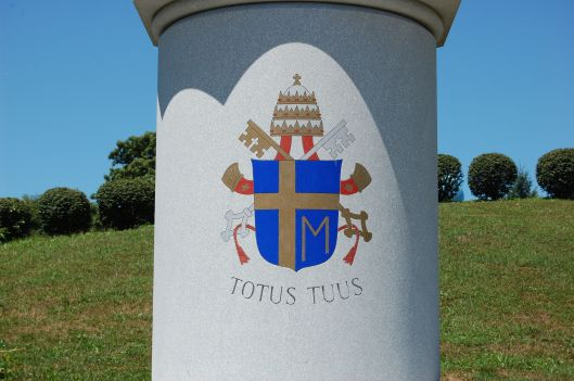 saint JP II COAT OF ARMS
