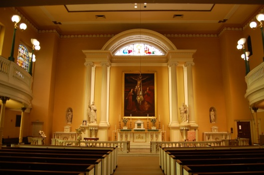 Old St. Joes altar