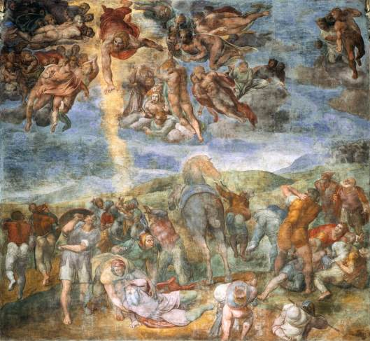 MICHELANGELO conversion of st. paul 2