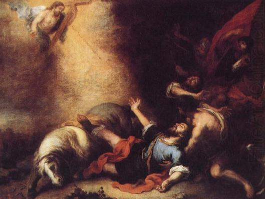 Bartolome Esteban Murillo Pauls Sanctification