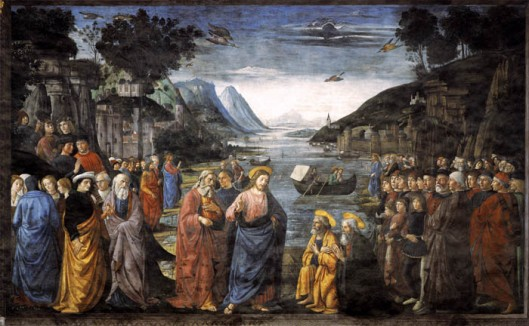 Calling_of_the_Apostles_1481 Domenico_Ghirlandaio