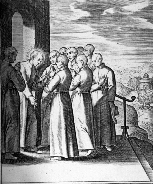 Ignatius chooses companions at Paris 1528 - 1535