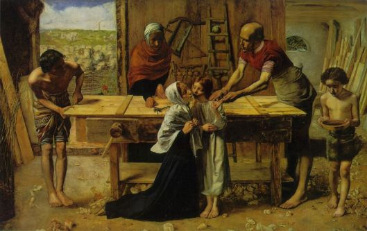 John Millais_Christ_in_the_House_of_His_Parents_1849