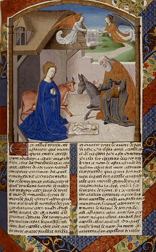 Nativity vita christi ludolph of saxony