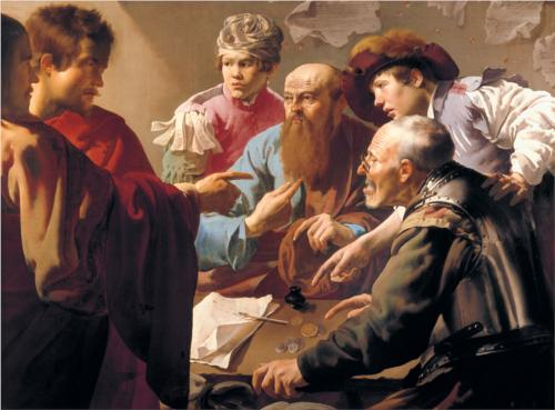 The Calling of St. Matthew - Hendrick Terbrugghen, 1621.jpg!Blog