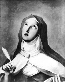 St. Theresa of Avila Francisco Goya