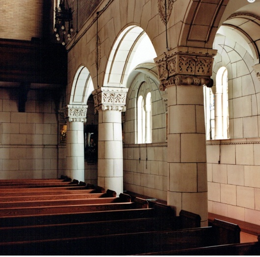 chapel side aisle