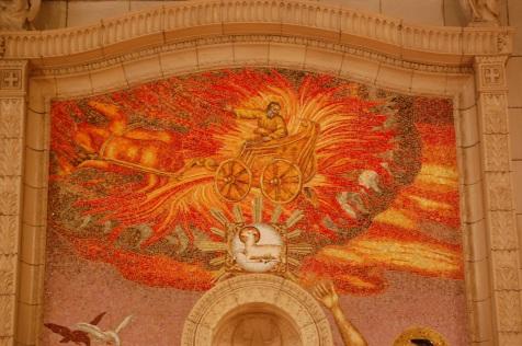 Prophet Elijah in chariot