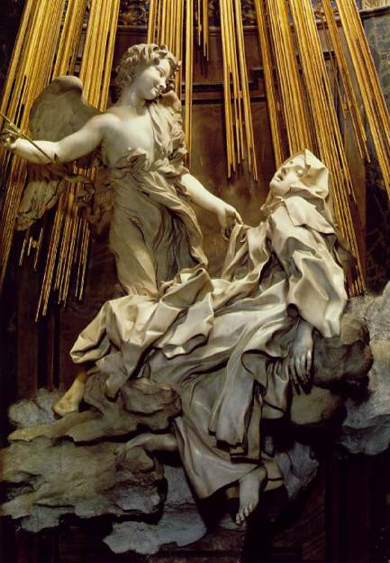 st teresa by bernini