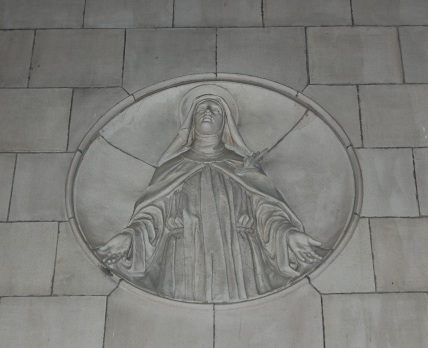 teresa of Avila medallion