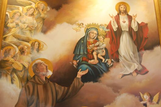 painting in Our Lady of Grace Chapel