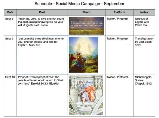 schedule social media campaign 1