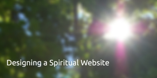 designing a spiriutal website pablo