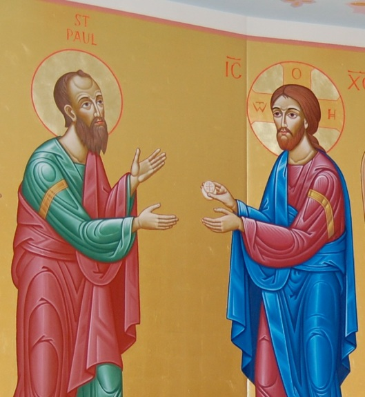 eucharist st paul and Jesus