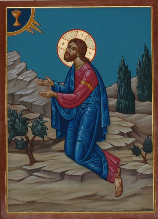 Jesus at the Garden of Gethsemane