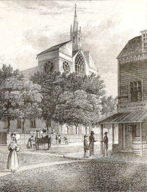 Old_St.Patrick's_Cathedral,_New_York_1815
