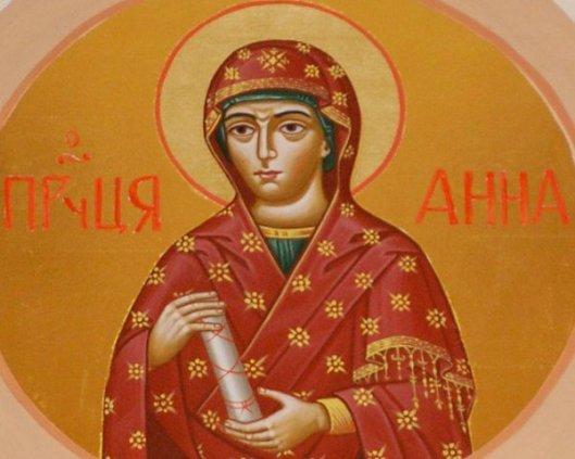 PROPHETESS ANNA
