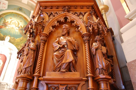 pulpit used by JN