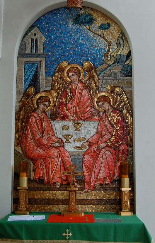 rublev Holy Trinity immaculate conception
