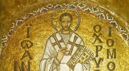 St. John Chrysostom, from Hagia Sophia Turkey