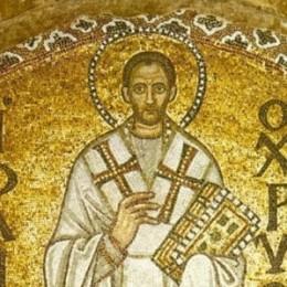 St. John Chrysostom, from Hagia Sophia Turkey
