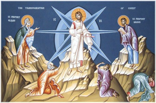 The Transfiguration of our Lord, celebrated August 6