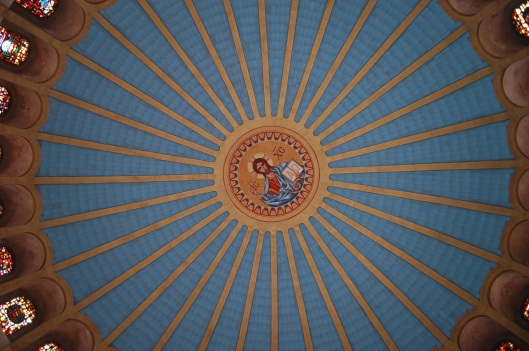 top of dome pantocrator