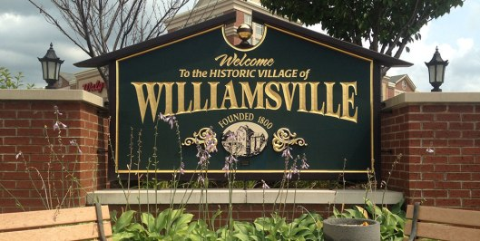 Williamsville_Village_sign