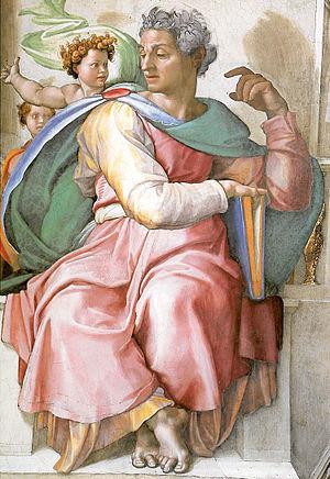 prophet Isaiah_(Michelangelo)