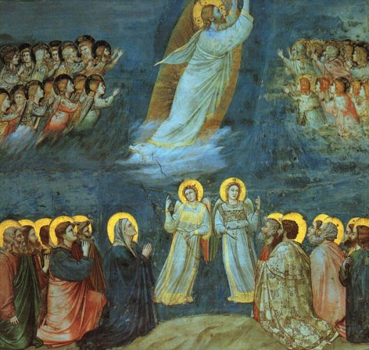 The Ascension by Giotto Scrovegni Chapel