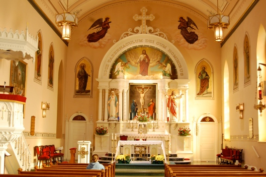 overview blessed sacrament