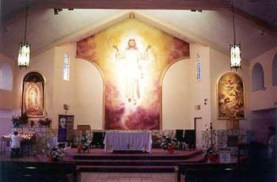 Resurrection, Santa Rosa Catholic Church San Benradino CA