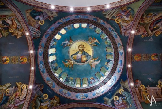 three lights upper pantocrator